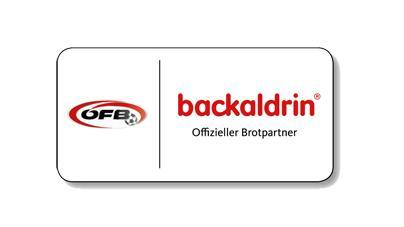 backaldrin, ÖFB, Partnerlogo