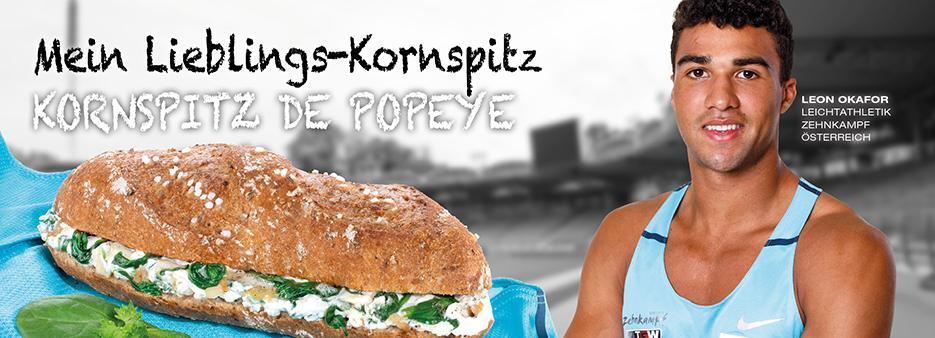 backaldrin, Leon Okafor, Kornspitz - Sportteam